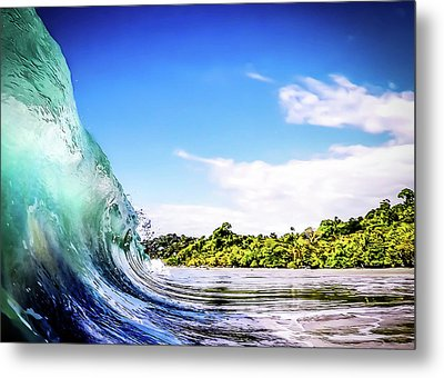 Metal Print featuring the photograph Tropical Wave by Nicklas Gustafsson