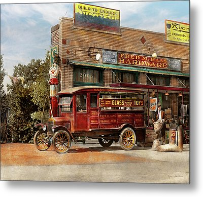 Truck - Delivery - Haas Has It 1924 Metal Print by Mike Savad