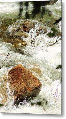 Truckey River Metal Print by Lori Mellen-Pagliaro