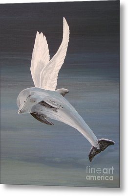 Metal Print featuring the painting True Angel 2 by Eric Kempson