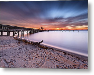 Metal Print featuring the photograph True Blue by Edward Kreis