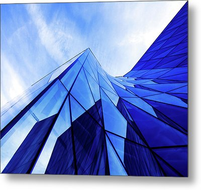 Metal Print featuring the photograph True Blue by Stefan Nielsen