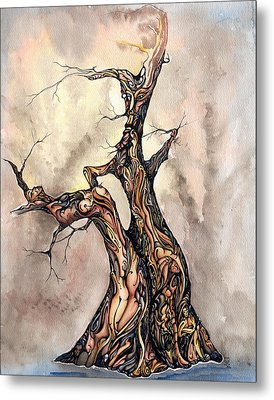 True Lies Metal Print by Karen Musick