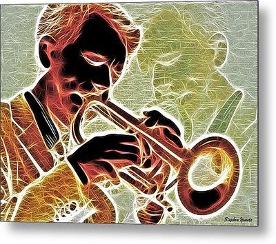 Trumpet Metal Print by Stephen Younts
