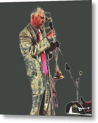 Trumpeter  Metal Print by Yury Bashkin