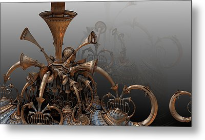 Trumpets Of Doom Metal Print
