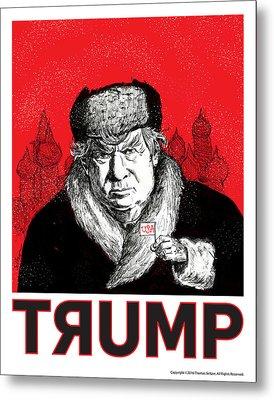 Trumpski Metal Print by Thomas Seltzer