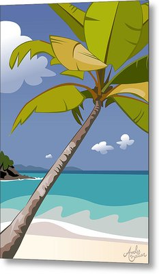 Trunk Bay Metal Print by Andy Bauer
