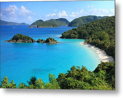 Trunk Bay St. John Metal Print by Roupen  Baker