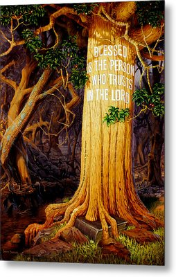 Trust In The Lord Metal Print by Graham Braddock