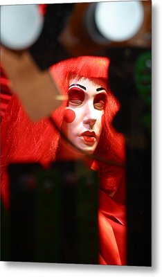 Trying To Not Be Seen Is Not Working Metal Print by Jez C Self