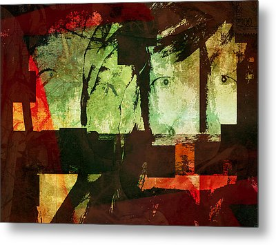 Reality, Illusion, And Perception Metal Print