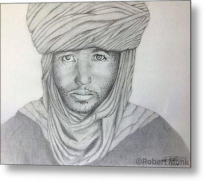 Tuareg Beduin Metal Print