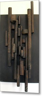 Tube Metal Print by Ralph Levesque