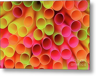 Metal Print featuring the photograph Tubed By Kaye Menner by Kaye Menner
