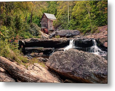 Tucked Away - Historic Old Mill Photography Metal Print by Gregory Ballos