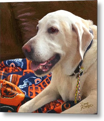 Metal Print featuring the painting Tucker by Doug Kreuger