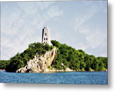 Tucker Tower Metal Print by Lana Trussell