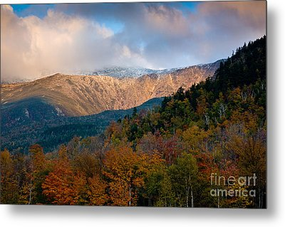 Tuckermans Ravine In Autumn Metal Print