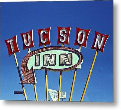Tucson Inn Metal Print by Matthew Bamberg