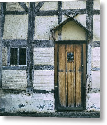 Tudor House Metal Print by Joana Kruse