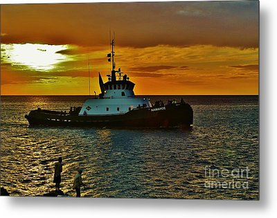 Tug Namahoe Metal Print by Craig Wood