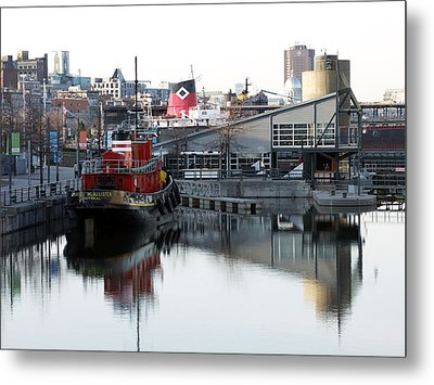 Tugboat 2 Metal Print by Robert Knight