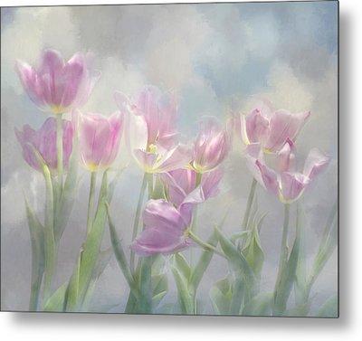 Tulip Dreams Metal Print by Ann Bridges