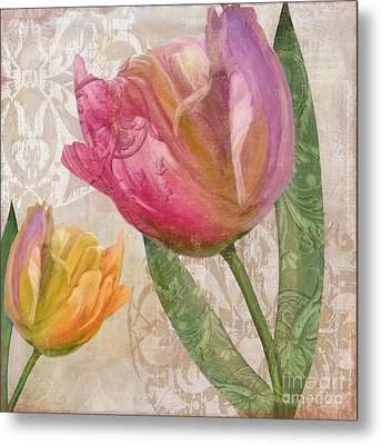Tulip Tempest II Metal Print by Mindy Sommers