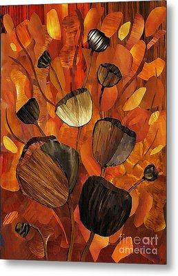 Tulips And Violins Metal Print by Sarah Loft