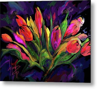 Tulips Metal Print by DC Langer