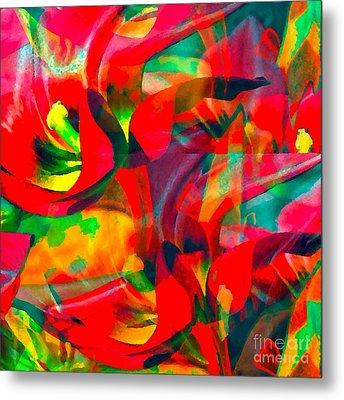Tulips IIi Metal Print by Loko Suederdiek