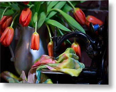 Tulips Metal Print by Sharon Jones