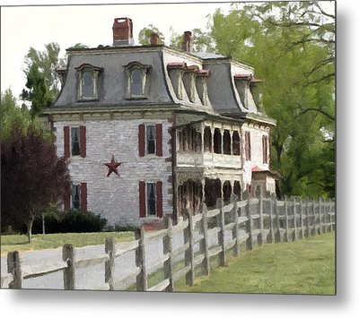 Metal Print featuring the photograph Tulpehocken Manor Plantation Historic Site  by David Dehner