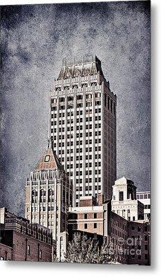 Tulsa Art Deco I Metal Print by Tamyra Ayles