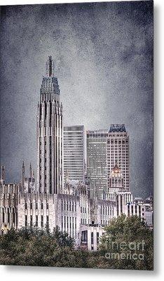 Tulsa Art Deco II Metal Print by Tamyra Ayles