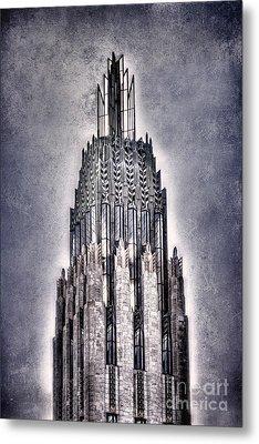 Tulsa Art Deco IIi Metal Print by Tamyra Ayles
