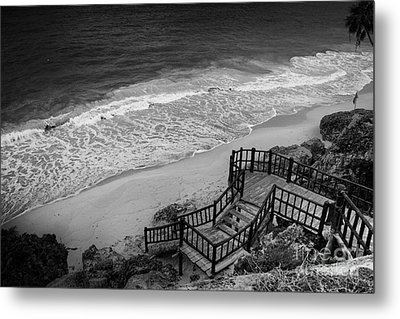 Tulum Beach Metal Print