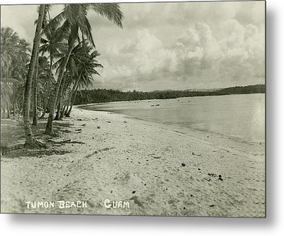 Metal Print featuring the photograph Tumon Beach Guam by eGuam Photo