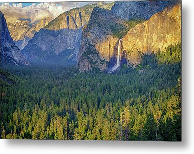 Tunnel View At Sunset Metal Print