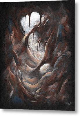 Tunnel Vision 03 - Spotlight Metal Print
