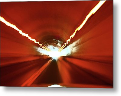 Tunnel Vision Metal Print by Gray  Artus