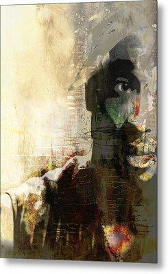 Tupac Graffitti 1167 Metal Print by Jani Heinonen