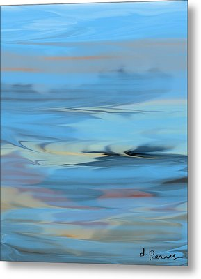 Turbulence Metal Print by D Perry