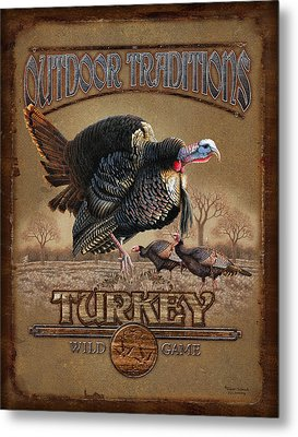 Turkey Traditions Metal Print by JQ Licensing