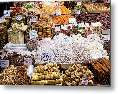 Turkish Delight In Istanbul Metal Print by Artur Bogacki