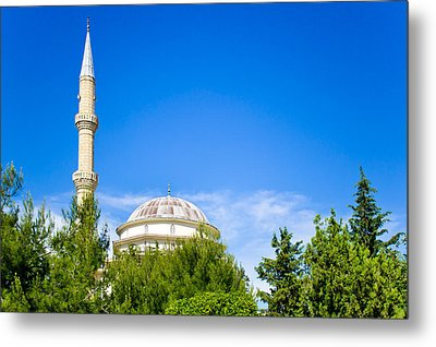 Turkish Mosque Metal Print by Tom Gowanlock