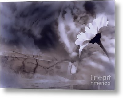 Turn Around There Is Hope Metal Print by Cathy  Beharriell