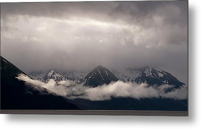 Turnagain Arm Metal Print by Andy-Kim Moeller