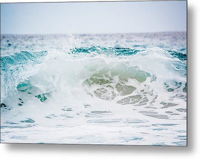 Turquoise Beauty Metal Print by Shelby Young
